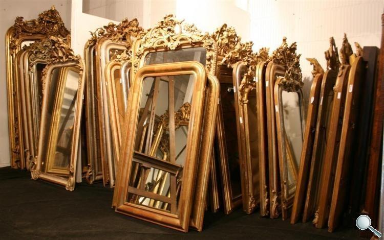 Antieke spiegels antieke spiegel antieke franse for Grote spiegels te koop