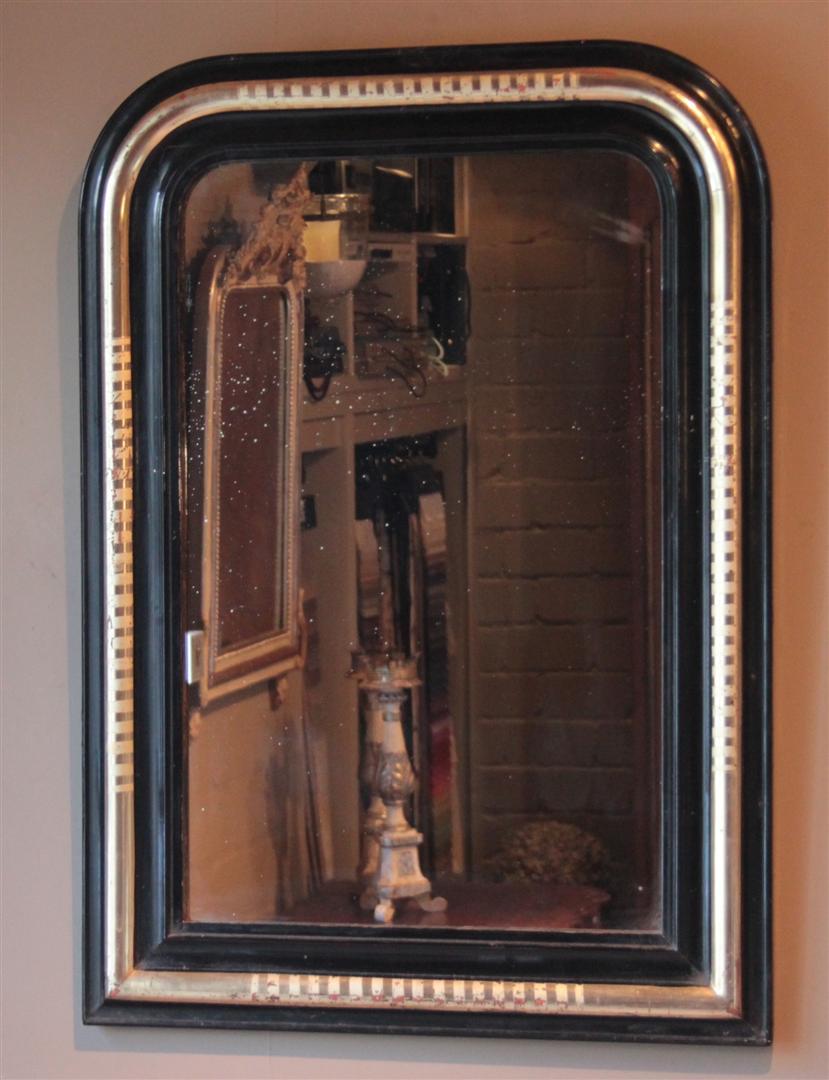 Antieke spiegels antieke spiegel antieke franse for Zwarte spiegel